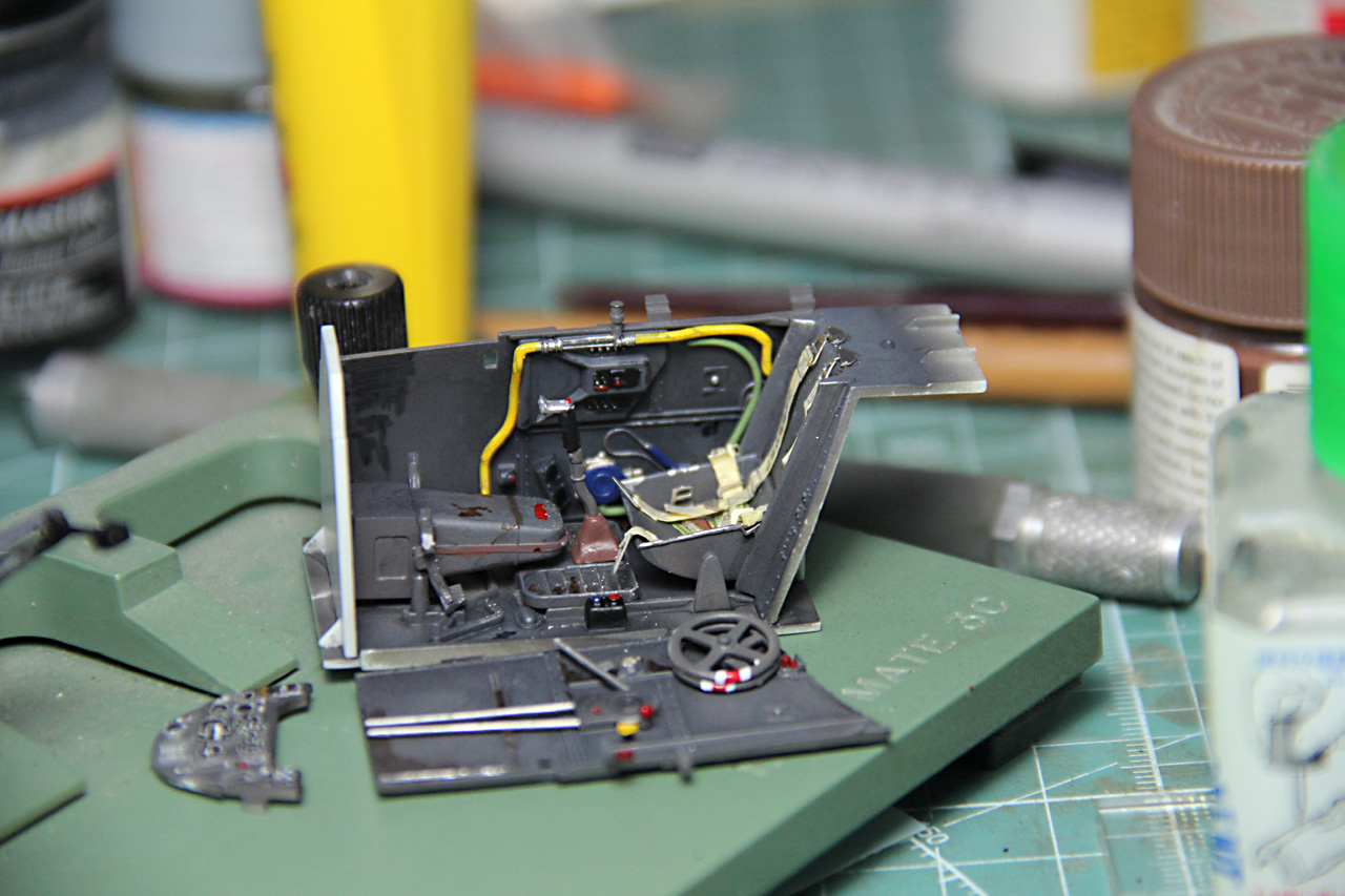 Revell 1 32 Me109 G6 In Progress Pics Arc Discussion Forums Wiring Harness Rev 109 02